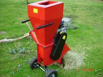 new 6 5 hp powerfull garden shredder chipper mulcher ebay. Black Bedroom Furniture Sets. Home Design Ideas