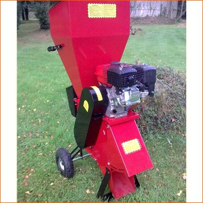 Order a The Titan Pro 7HP Petrol Garden Shredder has fantastic efficiency, with a large brush hopper and safety cover, which is designed for small branches up to 10mm in diameter. The side chute is designed for thicker branches up to 50mm. It is perfect for those who have branches to dispose of, but who would not utilise the full power of the 15HP garden shredder. Ideal for small to medium sized gardens.