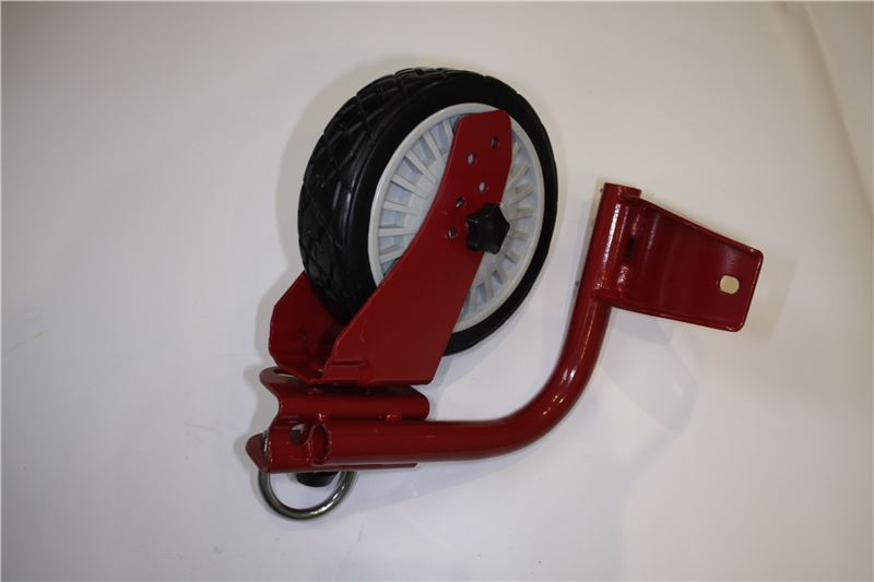Order a A genuine replacement front left wheel and bracket for the Titan Pro 22