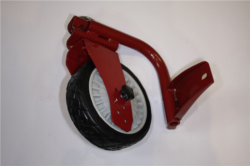 Order a A genuine replacement front right wheel and bracket for the Titan Pro 22