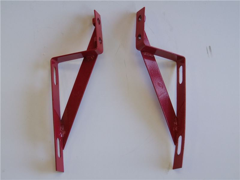 Order a Genuine replacement set of Front Dust Cover Brackets to suit the Titan Pro TP1100B.