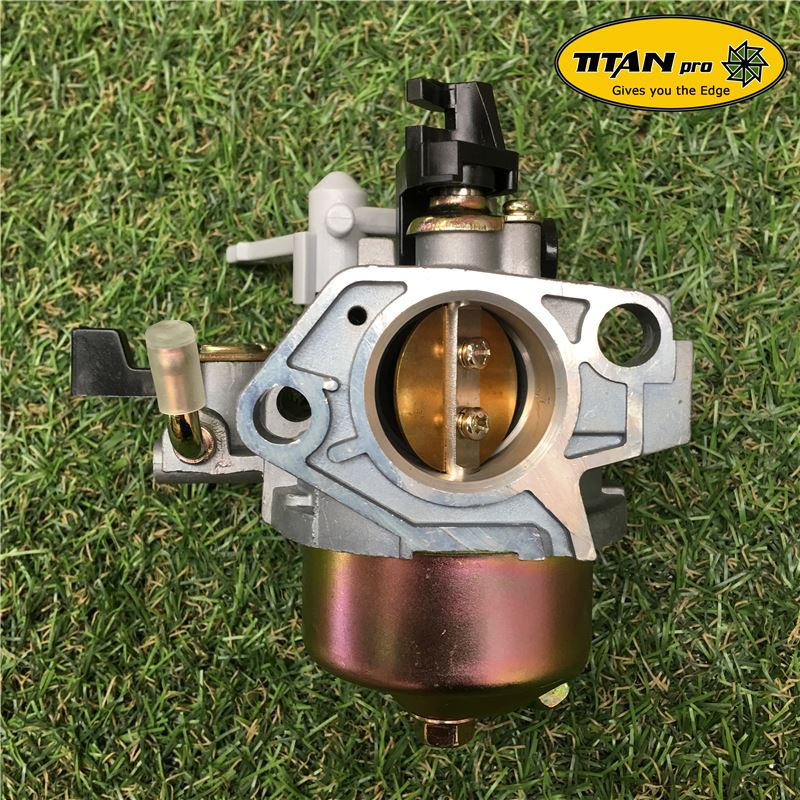 Order a A replacement carburetor for Titan Pro 14HP and 15HP chipper. Buy only genuine parts from Titan Pro.