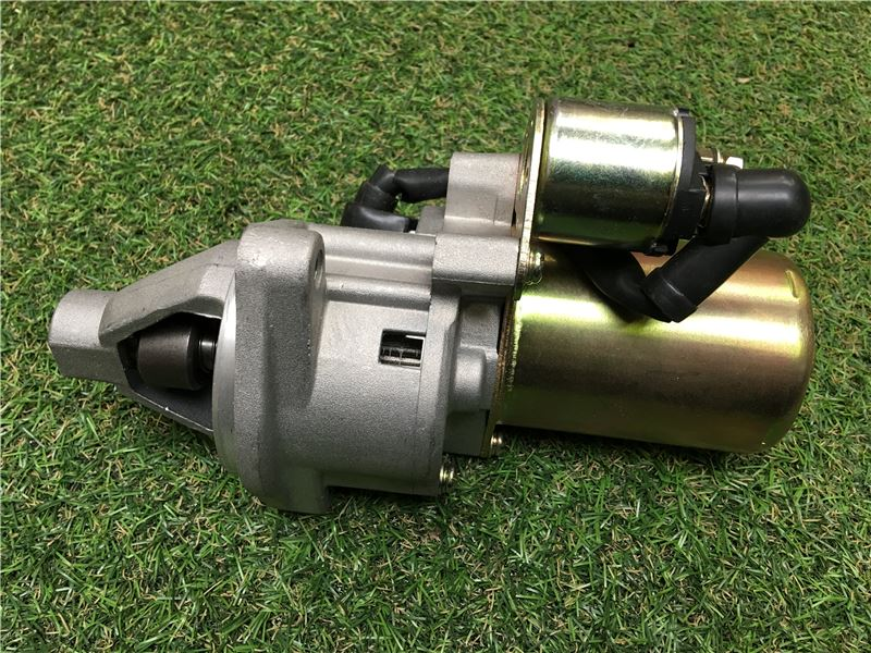 Order a This new starter motor is designed to fit the Titan Pro range of 15HP chippers.