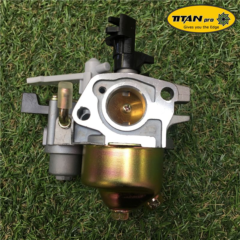 Order a A genuine replacement Carburetor to fit both the 6.5HP and 7HP chipper shredder range from Titan Pro.