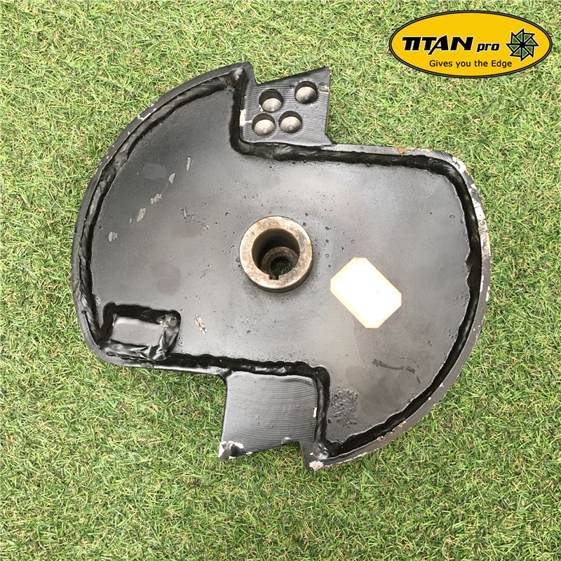 Order a A genuine replacement rotor drum for the Titan Pro TP600 Chipmunk chipper.