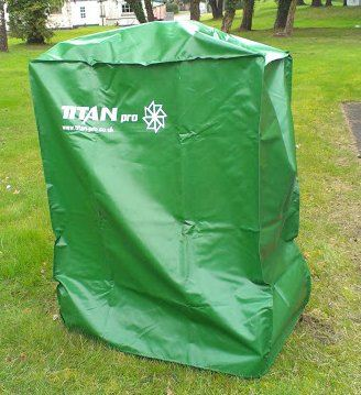 Order a The Titan Pro green, fully waterproof cover for Garden Machinery, keep your machine nice and dry and ready for the next job. 985*550*1130mm, which opening orientation is the size of 985*550mm