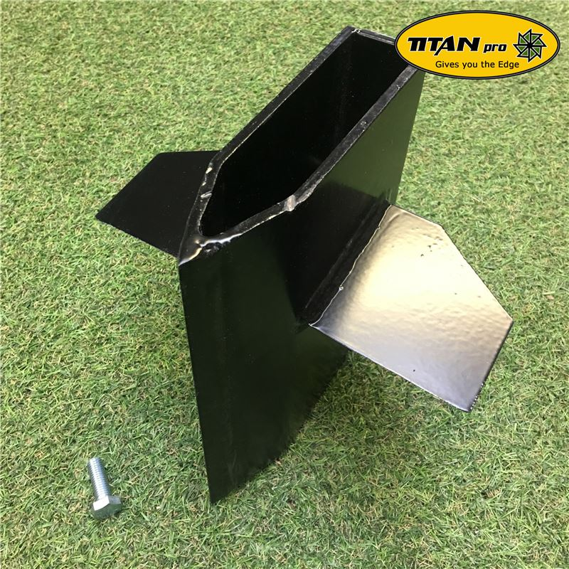 Order a Titan 10 Ton petrol log splitter cross wedge is available for splitting logs into fours in a quickly and cost effective manner