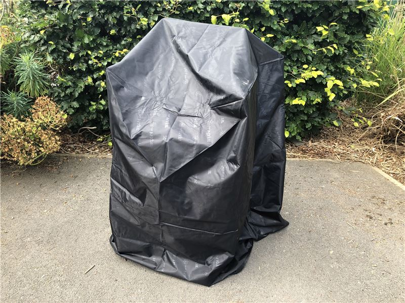 Order a Waterproof cover to keep your chair stack safe from the elements. Dimensions: 650mm x 650mm x 1000mm