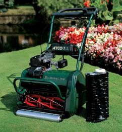 Order a The Balmoral range of cylinder lawn mowers from Atco features the Quick Exchange system