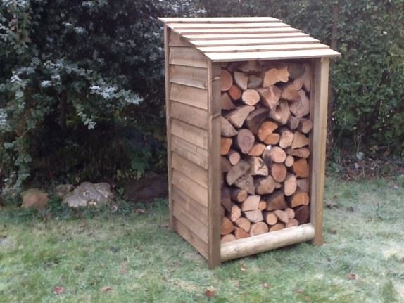 Order a Our small log stores offers a secure location for those who will be using their word burner every now and then - it may be one of the smallest in the range, but we haven't slacked on quality! Each log store is crafted from fully pressure treated timber, meaning you will get the best of quality, with incredible durability.