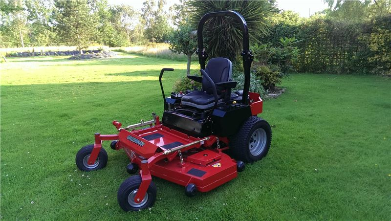 Order a Take it easy while you mow! The newest commercial grade mower in our range is the 52