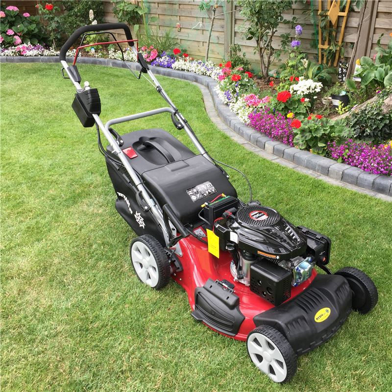 Order a The new Titan Pro petrol self-propelled lawn mower with a 21