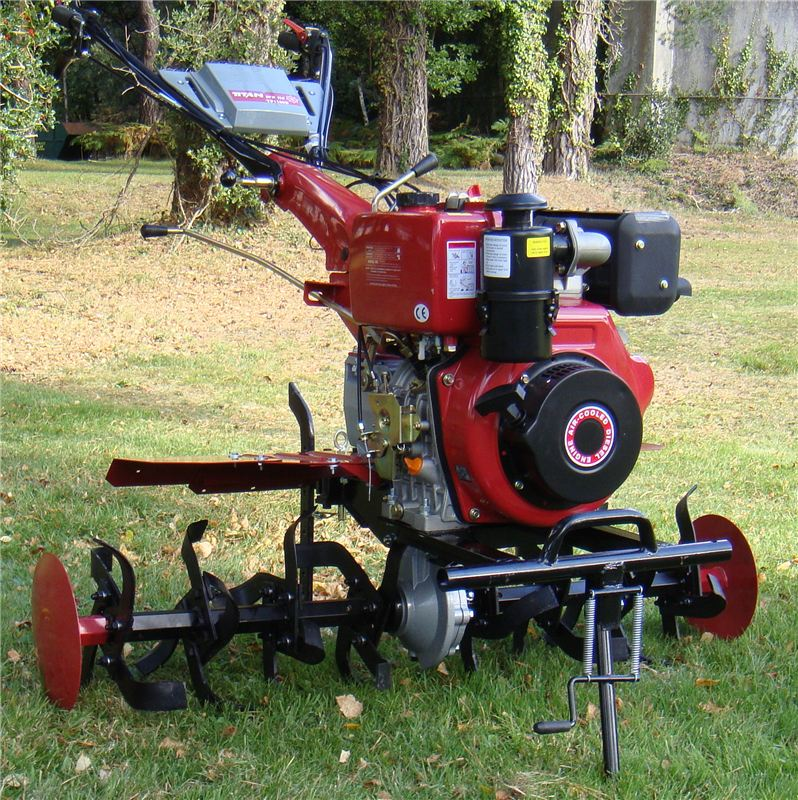 Order a The BIGGEST machine in our range of professional Garden Tillers/Rotavators. 