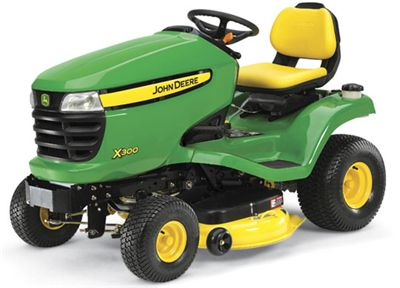 Order a The X300 premium range of lawn tractors offers customers the highest-quality of product