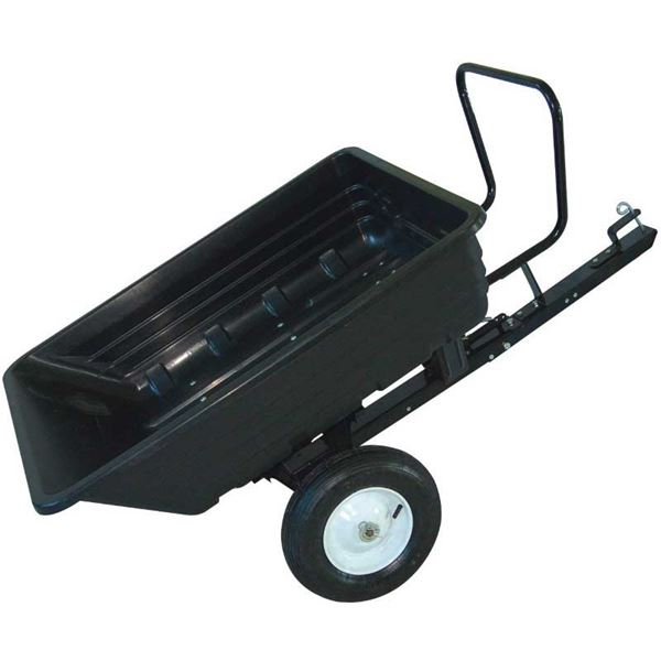 Order a Poly dump truck/garden trailer. Easy to assemble and simple to use.