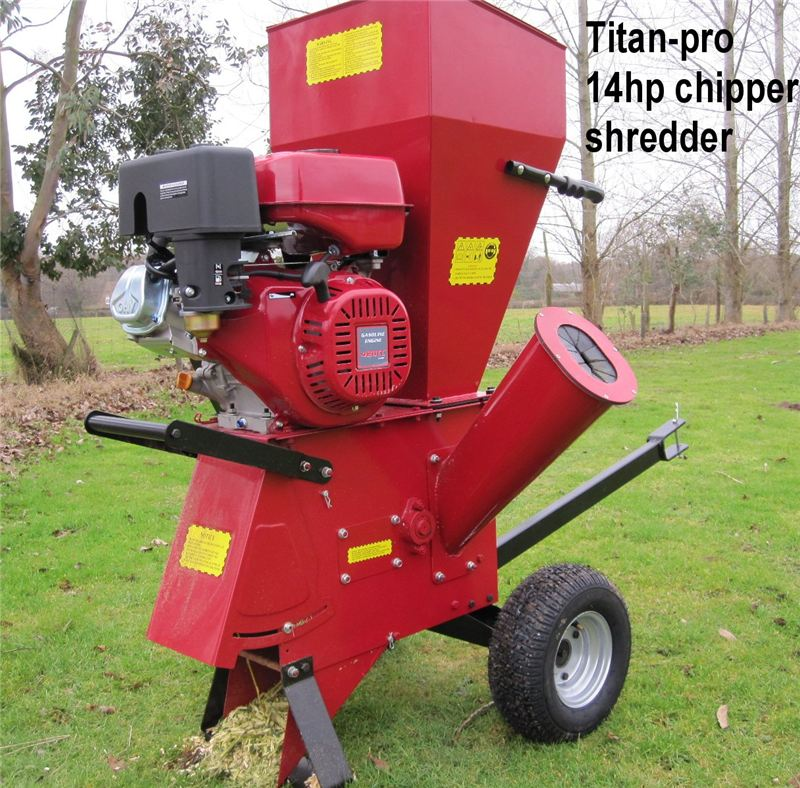 14HP + 15HP Garden Chipper Spares