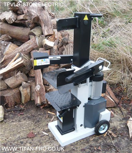 10 Ton 3-Phase Electric Log Splitter Spares
