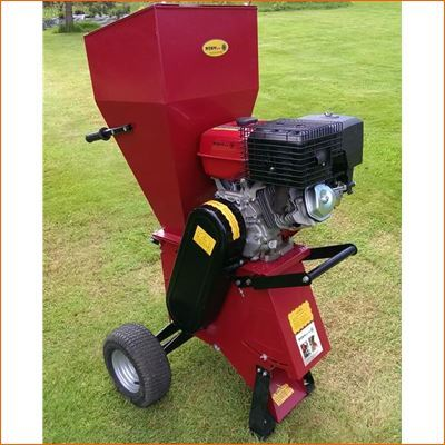 15HP Petrol Garden Shredder Chipper - Electric Start