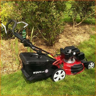 Self Propelled Petrol 180cc Rotary Lawn Mower