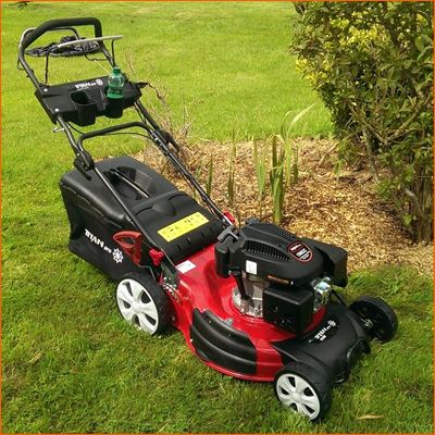 21 53cm self propelled rotary lawn mower. Black Bedroom Furniture Sets. Home Design Ideas