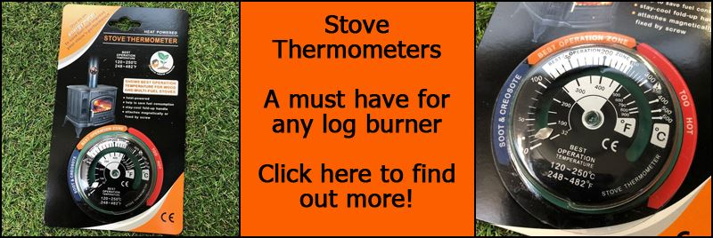 Stove Pipe Thermometers With Free Postage! Keep Your Burner Running Smoothly!