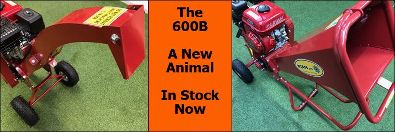 Garden Wood Chipper from Titan Pro - The 600B Is Now In Stock