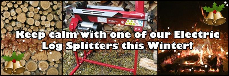 Electric Log Splitter - In Stock Now - Order For Delivery Before Christmas