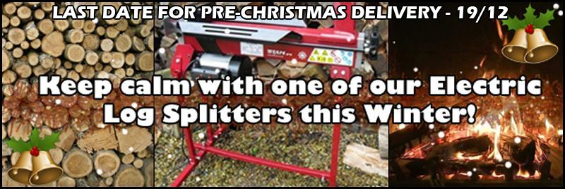 Log Splitters from Titan Pro - put away the axe and save your back!