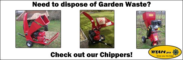 Garden waste is a thing of the past with our Chippers!