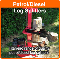 Order a Quality Petrol Log Splitter
