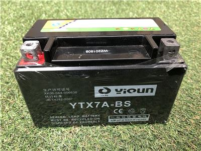 Battery for 15HP Chipper Electric Start (YTX7A-BS)