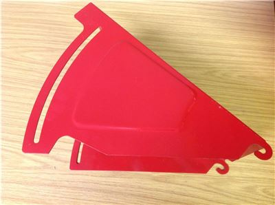 Upper Discharge Deflector Chute for Titan 7, 13 & 14HP Chipper