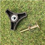 Knob and Bolts for Mower Handle Frame