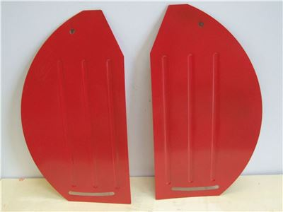 Pair of Side Plates for TP500 Rotavator