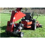 Towable garden Mulcher