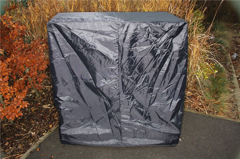 Order a This is a hard wearing fully waterproof black fabric cover, suitable to easily slip over your valuable piece of Titan machinery:   90CM/120CM/145CM HEIGHT