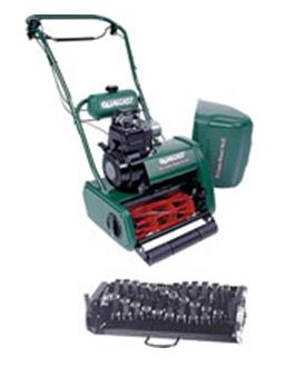 Order a Suffolk Punch P17SK Cylinder Mower (including free scarifying cassette)