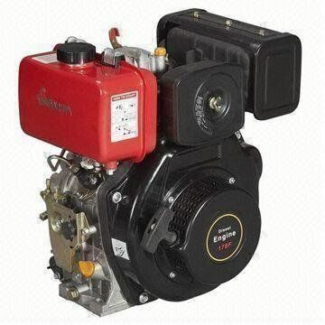 Titan Pro 9HP Diesel Engine - Single Cylinder