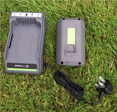 Lithium Ion Battery Charger Combo