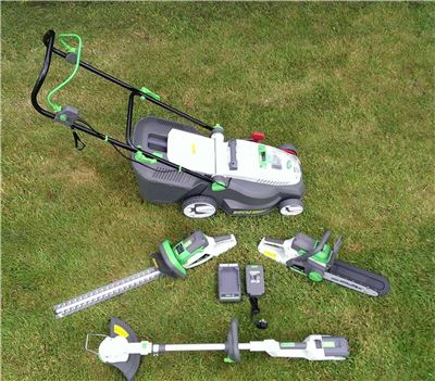 Lithium Ion 36V Garden Power Tools Package