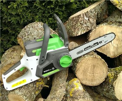 Lithium Ion Battery Chainsaw | Cordless Saw