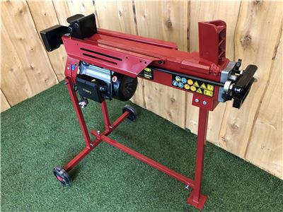 Log Splitter Including Stand 7 Ton Electric