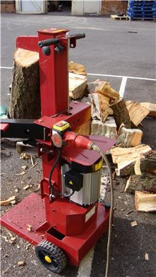8 Ton Vertical 3 Phase Log Splitter