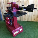 Order  Our new product in our extensive range. This 8 Ton Log Splitter is ideal for the residential user who needs 8 tons of splitting power. It is petrol driven with an economical and reliable 6.5HP Titan engine. One of the greatest features of both the 10 Ton Log Splitter and the 8 Ton Vertical Log Splitter is the ram height adjustment, which allows you to hold the cutting ram in a set position to suit your log length.