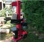 Log Splitter Vertical 10 Ton