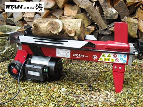 Titan 4 Ton Hydraulic Log Splitter | wood cutter | wood splitter