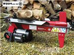 Order a The Titan-Pro 4 Ton Electric Horizontal Log Splitter is an electrically powered hydraulic unit designed for cutting and splitting logs. It has a 1500 watt power unit and is made for light use. If you need a higher powered Splitter to use on knotty or hard wood, please look at our 6 & 7 Ton Titan Pro models. Titan Electric Log Splitters provide optimum user safety with a professional quality build and two hand safety operation.