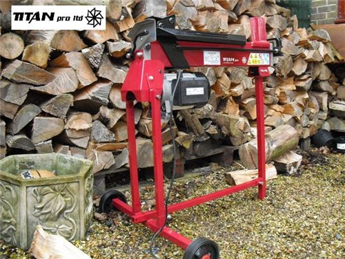 Order a For use with the Titan Pro 6 & 7 Ton Splitters (sold separately) this easy-to-use stand brings your log splitter to waist height and makes the task of log splitting an easier operation without the need to be bending over or crouching down to floor level.