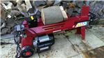 Electric Log Splitter With Stand
