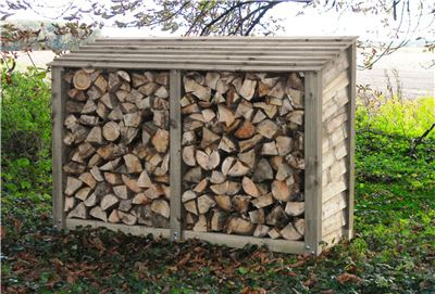 Titan 6ft Tall wide Log Store